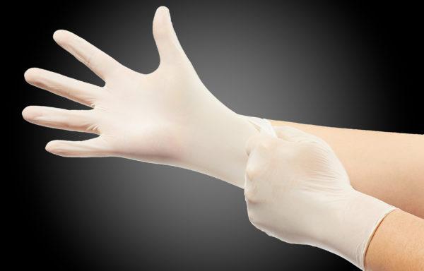 Pilgrim Nitrile Examination Gloves – White
